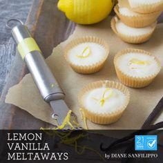 Lemon Vanilla Meltaways