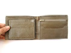ARMY GREEN  men's leather wallet No. 924 by AmielLeatherDesign, $47.00