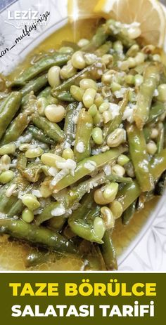 Turkish Recipes, Homemade Beauty Products, Nutella, Asparagus, Green Beans, Health Fitness, Salad, Vegetables, Food