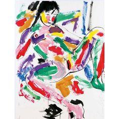 c - Luciano Castelli 1951 Kunstharz auf Papier
