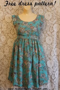Would you like to make this dress? It isn't hard. I've put together step-by-step instructions so that you can make it with yo...