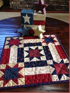 ~ Americana Table Topper ~
