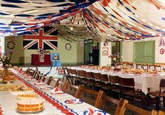 Silver jubilee party in the Otterham and St Juliot Hall in Cornwall, 1977. Can we all do this for the royal wedding please?