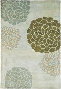 Soho 211A Hand Tufted Contemporary Flower Wool Rug $39.34 from selectrugs.com