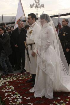 Royal Wedding Veil Side View