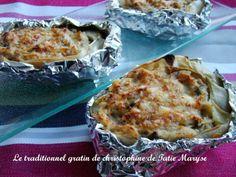 Christophine en gratin, recette créole