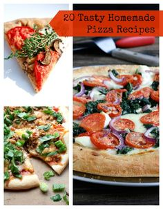 Pizza Party! 20 Ways to Make Delicious Pizza at Home