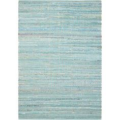 Bungalow Rose Bryce Canyon Hand-Woven Light Blue Area Rug Rug Size: Rectangle 5' x 7'