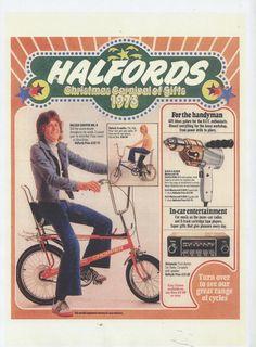 Halfords 70's poster #Halfords #70's