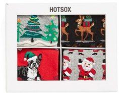 HOT SOX Holiday Socks Gift Set