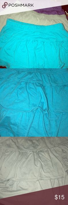 Lot of 4 Girls Skorts Lot of 4 TotalGirl Skorts. One gray, one turquoise, one plum, one black. All in excellent condition Bottoms Skorts
