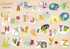 Ailsa Burrows Illustrations - Alphabet Poster