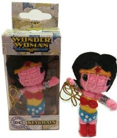 Get off now on Licenses Products DC Comics Originals Wonder Woman String Doll Keychain Diy Voodoo Doll Keychain, Diy Voodoo Dolls, Best Amazon Deals, Dc Comics, Teddy Bear, Wonder Woman, The Originals, Toys, Ebay