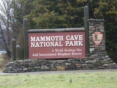 Mammoth Caves, Kentucky -- this is literally one of my favorite places in the WORLD. I love the caves