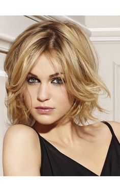 Medium Length Bob Hairstyles For Fine Hair Pictures  Trending Medium Length Haircuts  Medium Shaggy Haircut