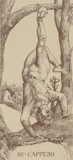 Arcane XII : Le Pendu - Le Tarot d'Albrecht Dürer