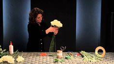 Bruidswerkworkshop van topbloemist Desiree Glasbergen
