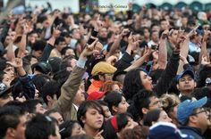 Nezahualcóyotl, Méx. 24 Abril 2013. Encuentro de Rock Nacional en Neza.