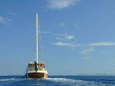 Croatian charter, beautiful Gardelin gulet