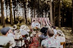 Jenny and Marvin's Intimate Bohemian Woodland Wedding by Elena Engels Fotografie