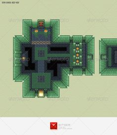RPG Dungeon Level Chip Set 02 - Illustrations Graphics