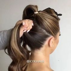 Pin by Yiot Karagiorgou on xtenismats in 2019 Pagent hair, We . Pin by Yiot Kara Fast Hairstyles, Wedding Hairstyles For Long Hair, Pretty Hairstyles, Braided Hairstyles, Formal Hairstyles, Pagent Hair, Bouffant Hair, Stylish Hair, Hair Videos