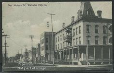 IA Webster City GRAVURE c'08 DES MOINES STREET Willson