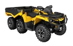 New 2016 Can-Am Outlander 6x6 XT 1000 ATVs For Sale in Missouri. The tougher the terrain is, the better the characteristics of the Outlander 6x6 XT display. It sets a new standard in the segment by reaching previously impassable destinations.