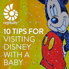 10 Tips for Visiting Disney with a Baby.... Declan won't remember the trip, but Dil will :) At least babies are free! We saw hundreds of babies on our last trip