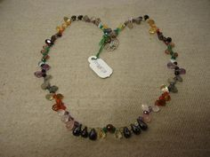 """Natural Multi Stone Multi Shape Faceted 17"""" Beads Fancy Necklace, 109.5 Cts. #HandMade #Faceted"""