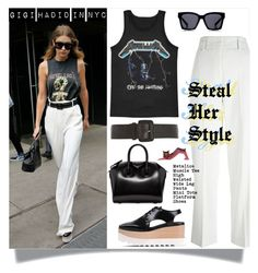 """""""Steal Her Style - Gigi Hadid"""" by watereverysunday ❤ liked on Polyvore featuring Isabel Marant, Dorothy Perkins, STELLA McCARTNEY and Givenchy"""