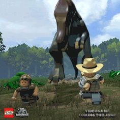 Life on Isla Sorna is what you make of it…and in this case, it's a LEGO Spinosaurus. #LEGOJurassicGame