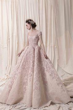 Featured Wedding Dress: Krikor Jabotian; www.krikorjabotian.com; Wedding dress idea.