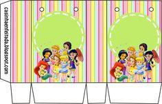 Kit Festa Princesas Baby Para Imprimir Grátis