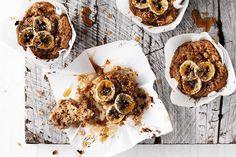 Healthy (Sugar Free) Banana, Date & Walnut Muffins | Jessica Sepel