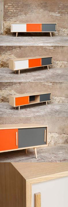 I have seen this colour combination before. It works DEVINELY with wood !!!