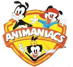 Animaniacs (90's)...believe it or not, my husband and I watched and loved this show...when we didn't have kids!!! And Pinky and the Brain...