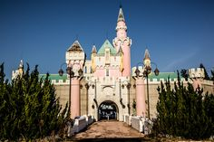 Iconic design: The castle at the 1961 Nara Dreamland theme park was modelled on Disneyland's Sleeping Beauty castle which opened in the US the year before. The park has been closed for almost 10 years. Abandoned Theme Parks, Abandoned Amusement Parks, Abandoned Places, Haunted Places, Japan Travel Agency, Japan Travel Tips, Nara, Time Travel, Places To Travel