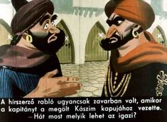 Ali Baba és a negyven rabló Conte, Arabian Nights