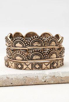 Tribal-Inspired Bracelet Set | Forever 21 | #f21accessorize