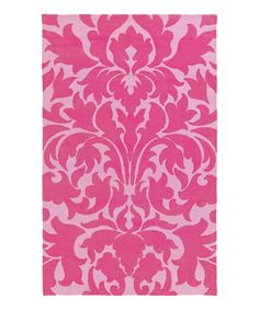 Look at this Pink Abigail Rug on #zulily today!