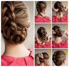 quick hairstyle in 3 minutes- wonderful diy47