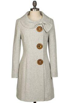 Amber Road Coat, ModCloth // 100% my style.