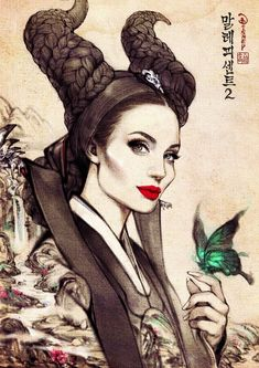 Here's What Your Favorite Disney Villains Would Look Like If They Were In A Korean Drama
