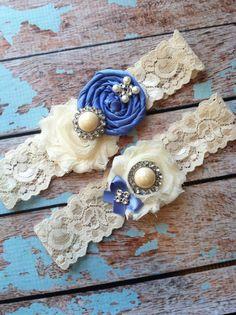 Wedding garter / WISTERIA / wedding garters/ bridal  garter/  lace garter / toss garter / vintage lace garter