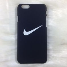 CLEARANCE ✨ Black Nike iPhone case Brand new! Available for: iPhone 5/5s/se iPhone 6 Plus/6s Plus Tags / Brandy Melville / Victoria's Secret / PINK ☾Dream Boutique ☾ Nike Accessories Phone Cases #Iphone5s