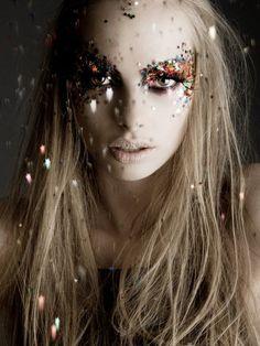 #glitter #makeup #fashion