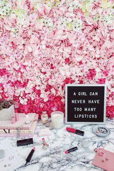 STYLE - BEAUTY - MYLIFESTYLEMEMOIR Julie Johnson, Aspyn Ovard, Beauty Must Haves, Pink Lipsticks, Pink Walls, Pink Love, Fashion Beauty, Autumn Fashion, About Me Blog