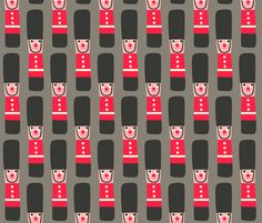 tin solider  fabric by heidikenney on Spoonflower - custom fabric