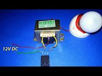 Make Inverter 12v To 220v 200w Simple Circuit Diagram Use 12 0 12 Transformer Youtube Circuit Diagram Electronic Schematics Circuit Design